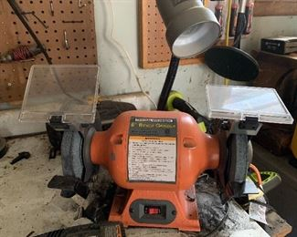 Central machinery 6 inch bench grinder