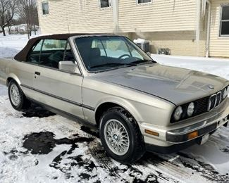 $7,000 or Best Offer - 1988 BMW 325i Convertible (running, great condition, approx. 108,000 miles)