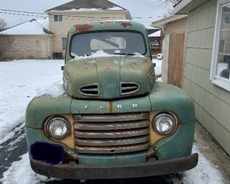 1948 Ford F-1 Pickup - Waiting to be brought back to life.