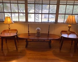 Heywood-Wakefield Coffee and End Tables