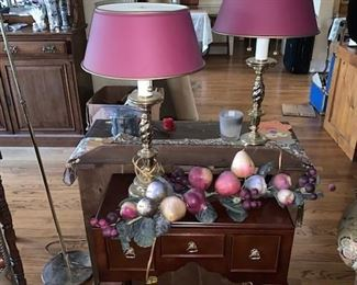 Lamps and  Antiques of all Kinds