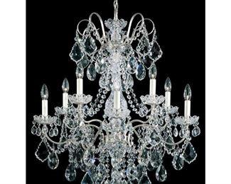 New Orleans Style (Schonbek) Swarovski Crystal   Chandelier pre sale available item. $ 1,600.00