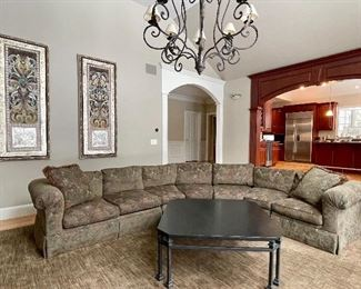 Custom Sectional Sofa by Classic Traditions