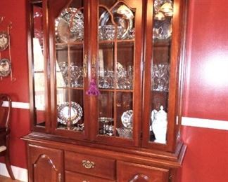 American Dres China Cabinet