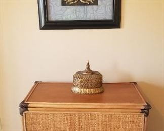 Rattan chest, great condition