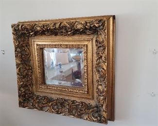 Ornate Vintage Framed Mirror