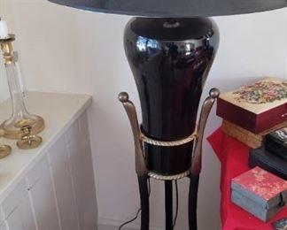 Mid Century Retro Standing Lamp