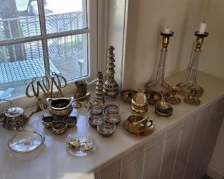 A Variety of Brass Items
