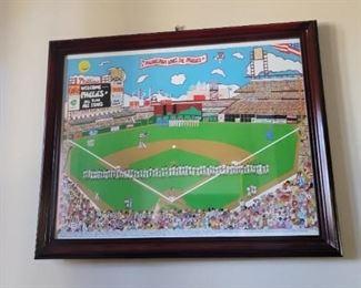 Baseball Decor Items