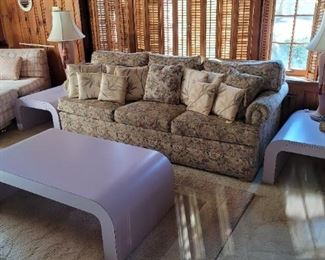 Art Deco/Retro 70s end tables and coffee table