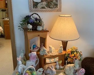 Easter decor - just in time