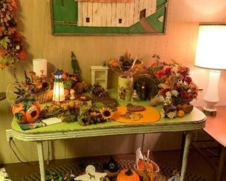 Lots of great fall décor