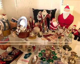 LOTS of Christmas items