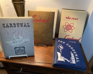 1947 to 1952 Dundee Cardunal yearbooks