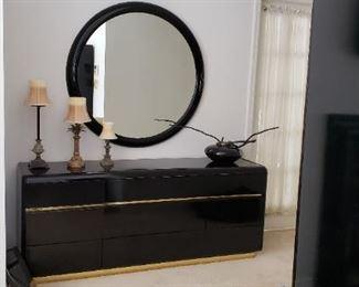 40 inch round mirror