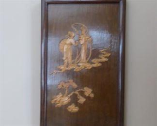 Asian Art Wood Block