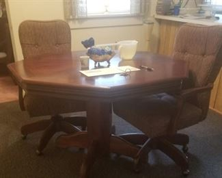 Game Table and 4 chairs