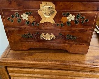 Large jewelry chest