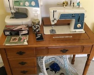 Brother & Singer sewing machines