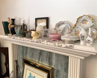 All kinds of quality home decor, vintage collectibles & antiques throughout