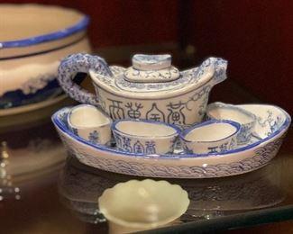boat tea set