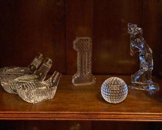 waterford golf figurines