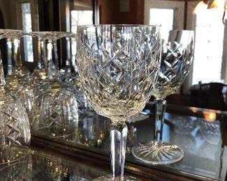 "Waterford 7"" water goblets Glengarrif"