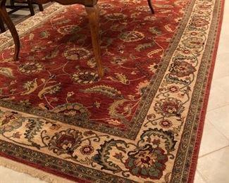 """Karastan Ashara wool rug 8'8"""" x 12'"""
