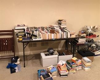 books - lots of current hardcovers