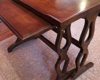 Henredon nesting side tables (18x24x21H)