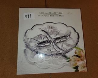 #11 - Liliana Collection Crystal Plate ($8)