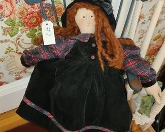 #2 - Sharon Andrews Doll In Chair ($25)