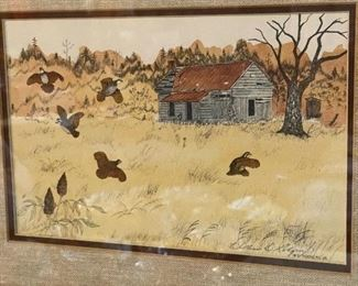 Signed William d Rogers painting