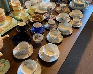 Teacup & saucer collections
