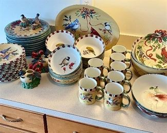 Beautiful Pieces Lenox Winter Greetings Christmas dishes