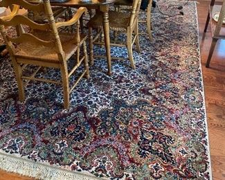 Beautiful Karastan Floral Kirman 8'8X12'  in wonderful condition no stains!! This beautiful rug can be presold for $1400 Call Bryan 706-656-9130