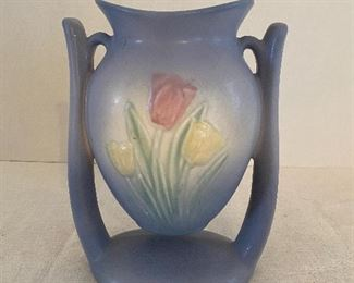 Vintage Hull Art Pottery Sueno Suspended Tulip Vase