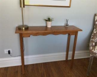 $60 teak table