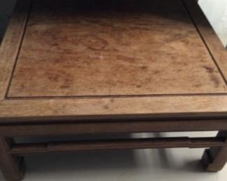 Teak coffee table purchased in China.  Needs tongue oil $200