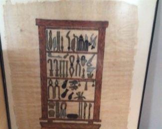 Egyptian art. $45