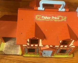 Vintage Fischer Price House $40