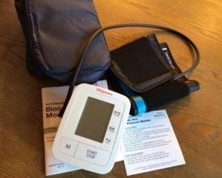 Walgreens like new electric blood pressure machine $20
