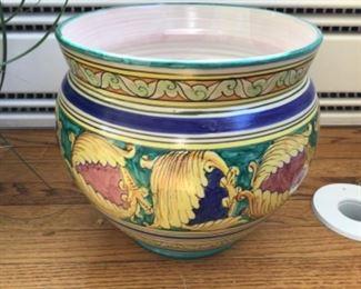 Large Italian pottery $50