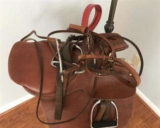 Saddle made in Argentina.