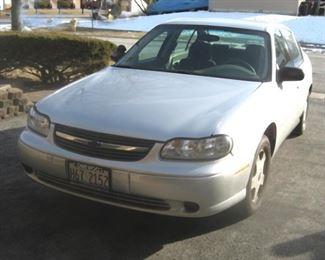 2002 Chevy Malibu Estate Car Garage Kept