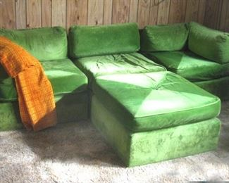Pit Style Sectional Couch