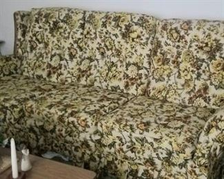 Old school couch and chair