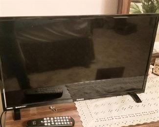 Smaller flat screen