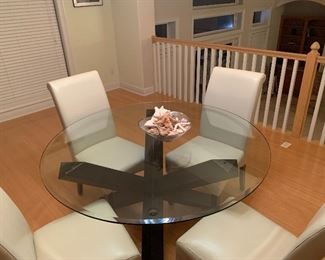 tem #10 Dining Table and 4 Chairs $325 In excellent conditiong!