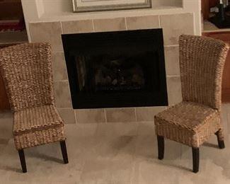 Item #6 Wicker Chair $40 Each